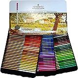 Profesional Premium numerados 72lápices de colores Set por schpirerr Farben–Petróleo suave Core–Ideal para niños y adultos, artistas, Sketchers–colorear dibujar y dibujar