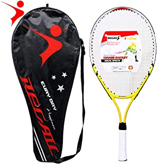 Goofly 1 Pcs Only Teenager's Tennis Racket Aluminium Alloy Frame with Firm Nylon Wire Perfect for Chindren Tennis Training