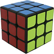 Bigood 3*3 White Rubiks Cube Speed Cube with Colorful Stickers