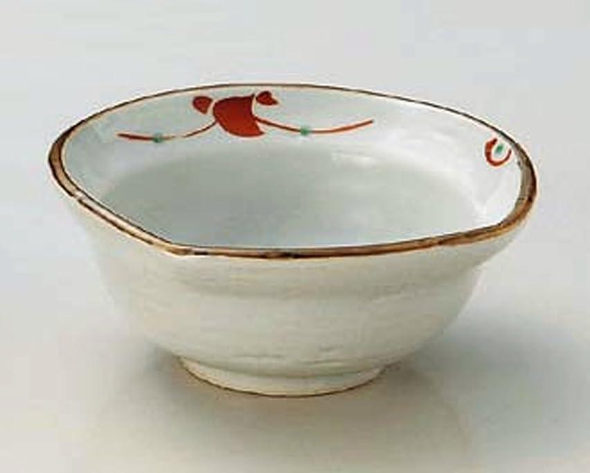 クレデンシャルエールパウダー赤絵 小花 10.5cm 小鉢10点セット 前菜用に取り鉢にも