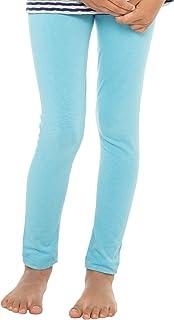 Celodoro Kinder Leggings, stretchige Jersey Hose aus Baumwolle