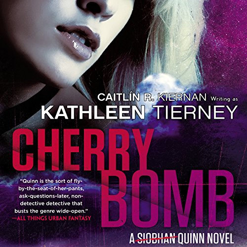 Cherry Bomb audiobook cover art