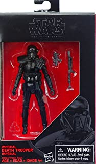 Star Wars: Rogue One, The Black Series Imperial Death Trooper Exclusive Action Figure, 3 .75 Inches