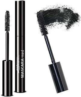 Medipharma Cosmetics Black Mascara Med - Paraben Free Mascara for Eyelashes, Dermatologist Tested for Sensitive Eyes, Promotes Eyelash Growth - Eyelash Thickening and Lengthening Mascara Eye Makeup