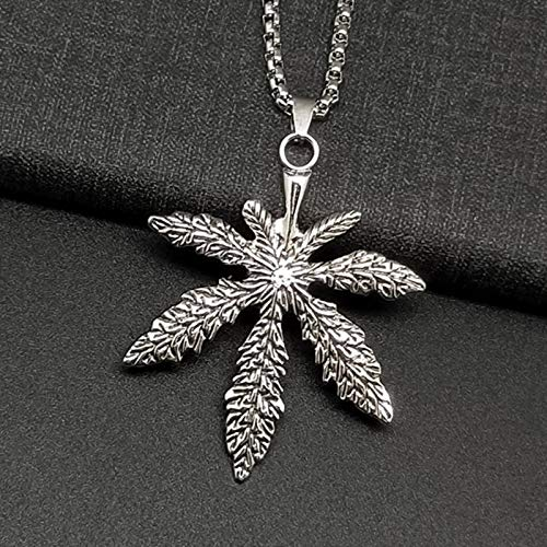 N-B Street Trendy Personality Men's Titanium Steel Necklace Sweater Chain Accessories Hip...