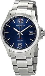 Longines Conquest VHP 43MM Blue Dial Watch L3.726.4.96.6