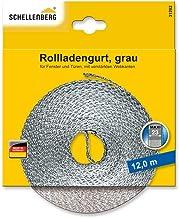 Schellenberg 31102 rolluikband Maxi, 23mm breedte, 12m lengte, grijs