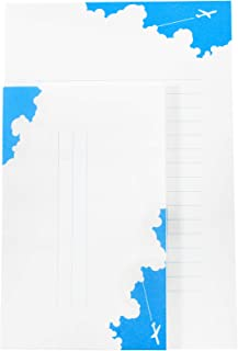Frontia Japanese Letter Set 20 pcs Letter Writing Stationery Paper and 10 pcs Envelopes 5.1