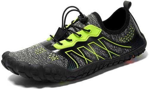 Chaussures De Plage,Cinq Doigts Chaussures pour Hommes Chaussures De Course Pieds Nus L'été en Plein Air pour Hommes Chaussures Aqua Rapide Léger Chaussures De Sport Fitness