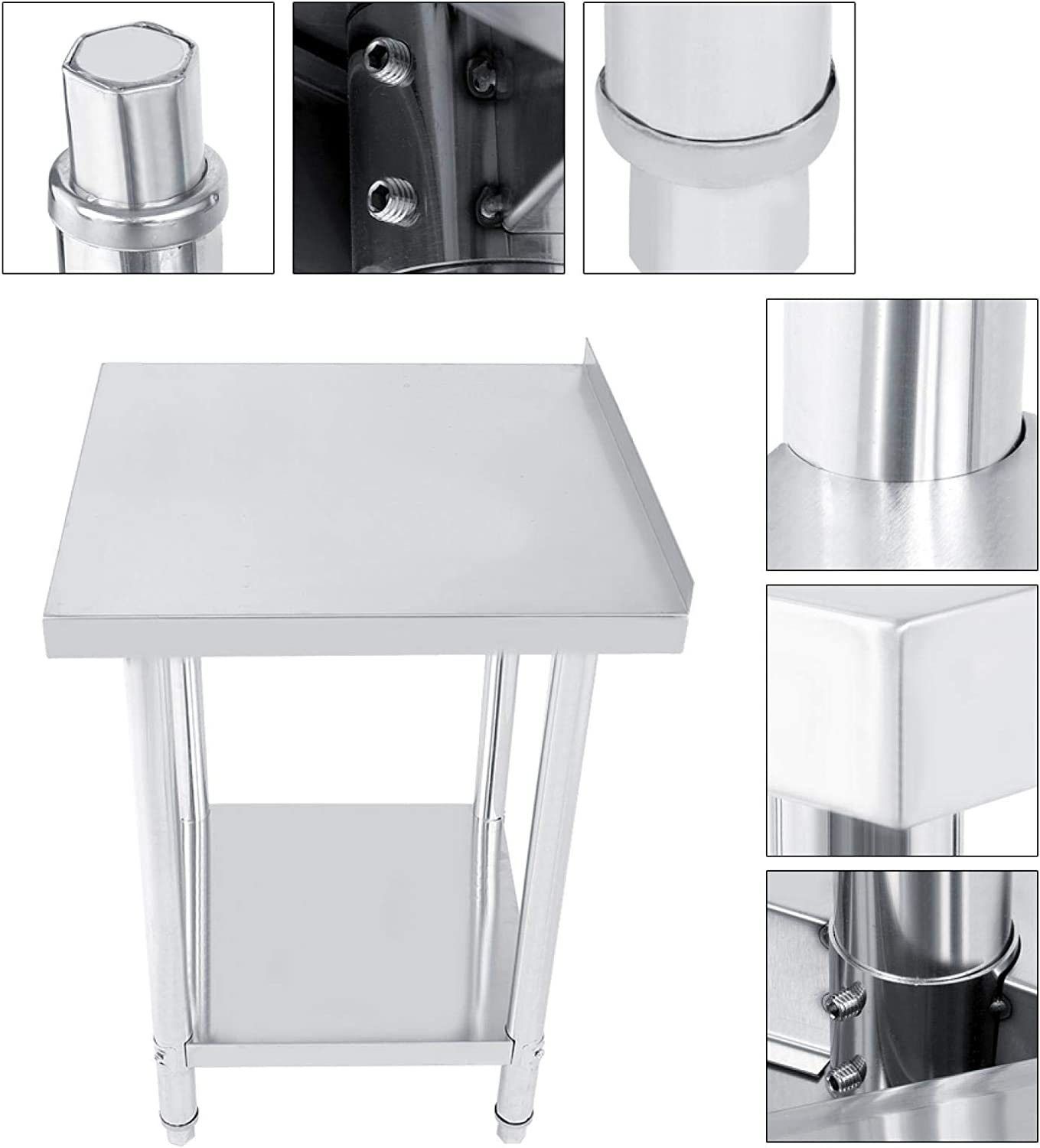 Operating Desk Weekly update 1Pcs Large Storage Table Stainless OFFicial shop Stee