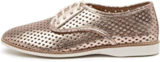 ROLLIE Derby Punch Vegan RSE Gld Womens Shoes Flats Shoes