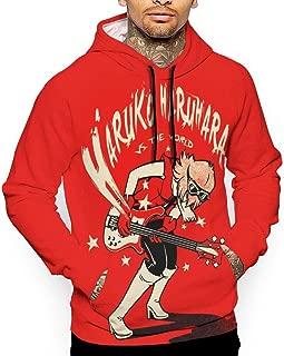 Unisex Haruko Haruhara Vs. The World Hoodies Casual Pullover Hood Jackets Sweatshirt