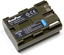 Maximalpower BP-511 BP-511A Battery for Canon EOS 5D, 50D, 40D, 20D, 30D, 10D, Digital Rebel, 1D, D60, 300D, D30, Kiss, Powershot G5, Pro 1, G2, G3, G6, G1, Pro90 is, Optura 20, Xi, 10, PI, 200MC, 100MC, Fully Decoded, REAL Capacity