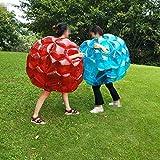 ningxiao586 Bubble Bumper Balls Kinder Aufblasbare Buddy Stoßstange Ball Bounce Sumo Anzüge 90 cm...