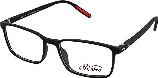 RETRO Unisex-adult Spectacle Frames Rectangular 5502 M.Black/Red