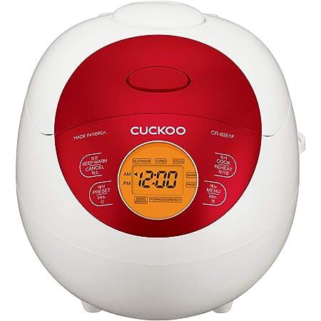 CUCKOO CR-0351F el. Cuiseur à riz Fuzzy Logic 0,54 l/425 W pour 3 personnes