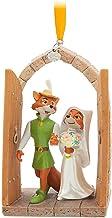 Disney Robin Hood and Maid Marian Sketchbook Ornament