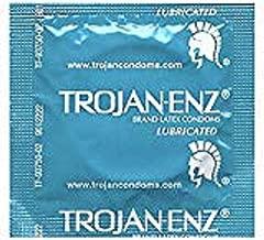 Trojan Condom ENZ Lubricated - 50 Bulk Count