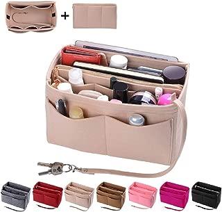 Purse Organizer Insert, Felt Bag organizer with zipper,...
