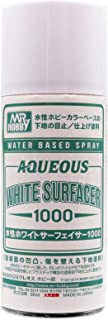 水性ホワイトサーフェイサー1000 スプレー 170ml ホビー用仕上げ材 B612 ホワイト