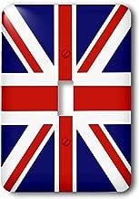 3dRose lsp_159852_1 British Flag Red White Blue Union Jack Great Britain United Kingdom Uk England English Souvenir Gb Single Toggle Switch