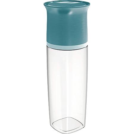 Maped PICNIK Adulte Bouteille d'Eau 500 ml Anti-Gouttes et Verre Capuchon - Compatible Lave-Vaisselle - Plastique Tritan Sans BPA - Vert