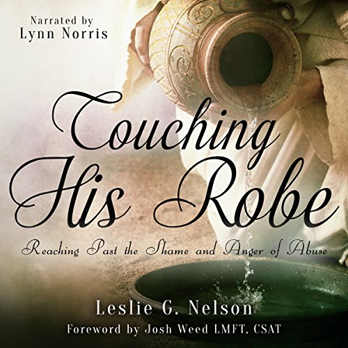 Touching His Robe audiobook cover art