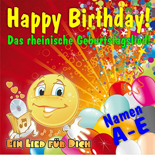 Happy Birthday ! Das rheinische Geburtstagslied für Anja