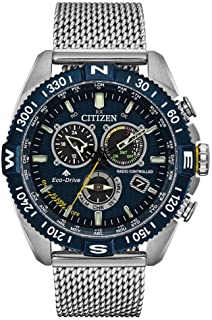 Citizen Men's Chronograph Eco-Drive Watch with Stainless Steel Strap CB5846-52L