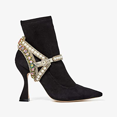 Sophia Webster Minerva Ankle Boot (Black/Pearl) Women