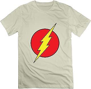 Men's The Flash Logo T Shirt Black