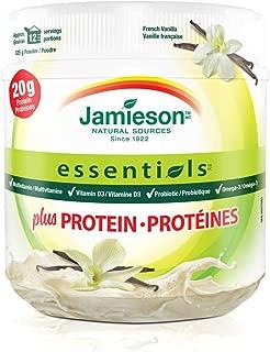Jamieson Essentials plus Protein, French vanilla flavour, 325g