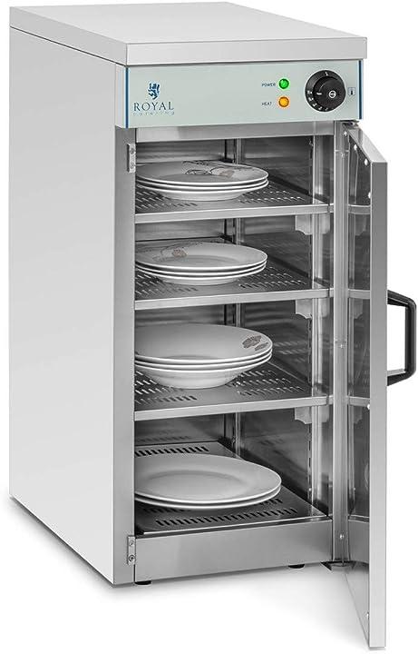 Armadio scaldapiatti per 60 piatti - 800 watt royal catering - rcws-30 B00VA5QC3I
