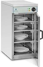 Royal Catering Chauffe-Assiettes Armoire Chauffante pour 120 Assiettes RCWS-30 (53x35x76,5cm, 800W, ø assiettes 29 cm, 30°...