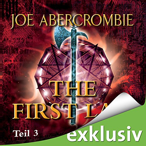 The First Law 3 audiobook cover art