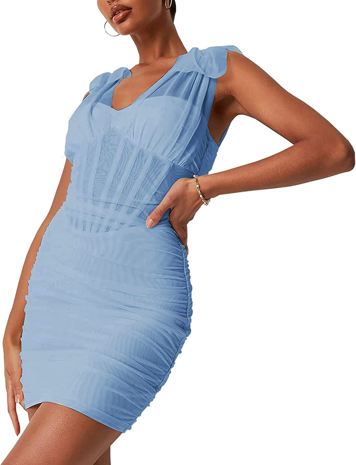 HOMELEX Women's Sexy Corsets Dress Strap It is very popular Spaghetti Mini Free shipping anywhere in the nation Bodycon