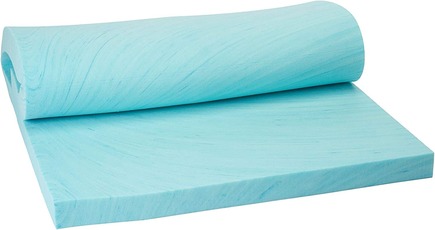 Memory Foam Solutions Queen Size 4 Visco Gel E Thick inch Swirl NEW before San Diego Mall selling