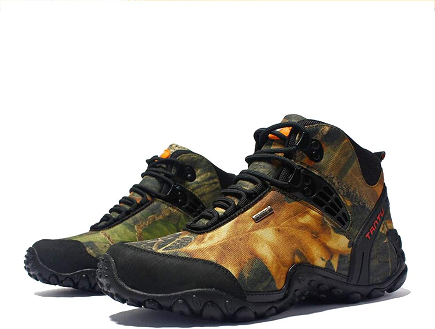 Mens Hiking Boots Waterproof Outdoor Camouflage Climbing Mountain Camping shoes