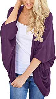 PRETTODAY Women's Summer Loose Kimono Cardigans Batwing...
