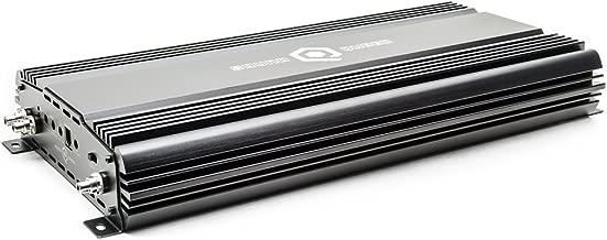 SoundQubed Q1-2200.2 2200W RMS Single-Channel (Monoblock) Class D Car Audio Amplifier with Remote Gain Control