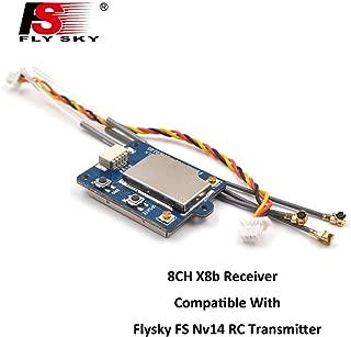 Flysky FS-X8B Receiver, 8CH 2.4G i-Bus/PPM Receiver for FS-Nirvana FS-NV14 FS-i6 FS-i6s FS-i6x FS-i8 FS-i10 Transmitter RC Quadcopter