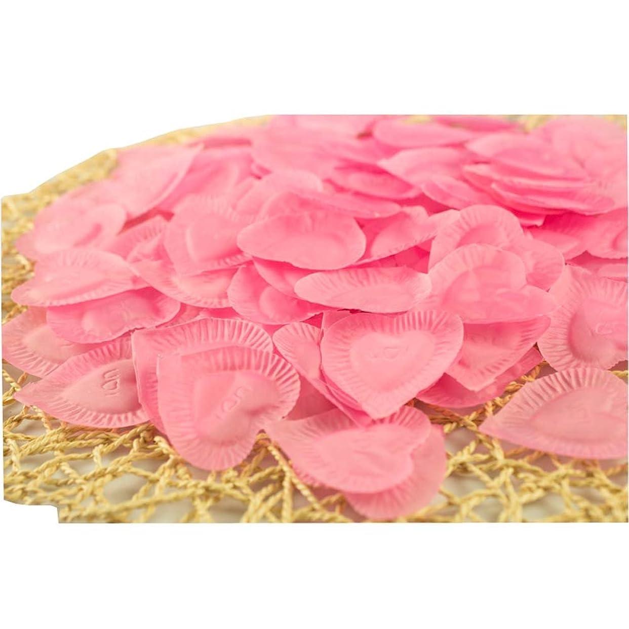 通り意識しつけ結婚式のための人工花びらのバレンタイン840個