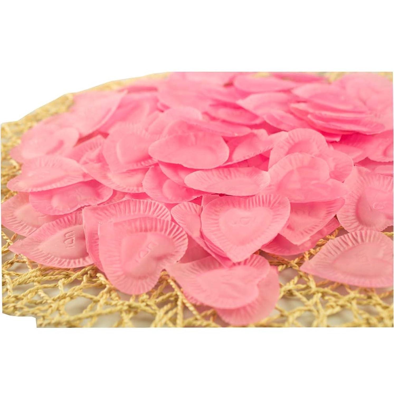 体現する有料麻酔薬結婚式のための人工花びらのバレンタイン840個