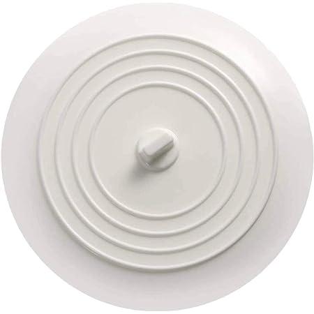 シンク ふた 排水口 ふた 15cm シリコン製 排水溝 ふた 白い色 シンク ふた 止水 浴槽ストッパー シンク 蓋 流し排水用 シンク ふた