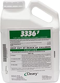 Clearys 3336 F Fungicide Turf Ornamental 1 Gallon Systemic Fungicide
