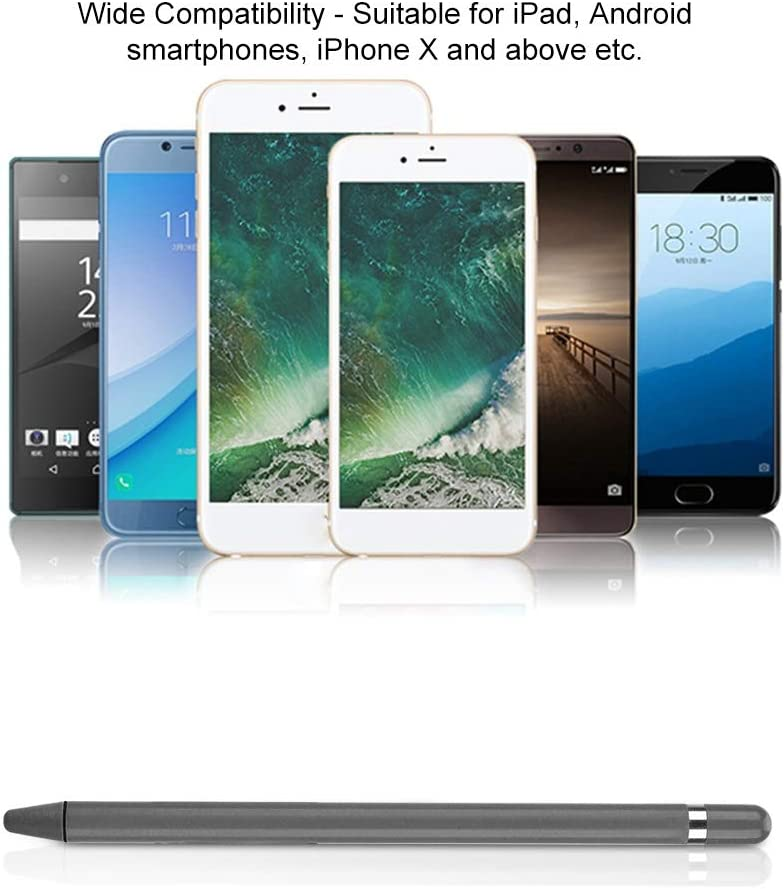 Toque Suave,Sin Rasgu/ños,L/ápiz Optico Capacitivo Universal Portatil para Tableta,Telefono Movil Blanco L/ápiz Capacitivo de Pantalla T/áctil,Alta Sensibilidad Dibujo Gr/áfico Tabletas Pen Profesional