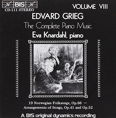 グリーグ:ピアノ作品全集 第8巻 [Import]の詳細を見る