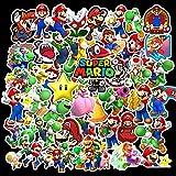 Pegatinas 15 Uds.Pegatinas de dibujos animados de Super Mario, juguetes para niños, pegatinas de juego, decoración de...