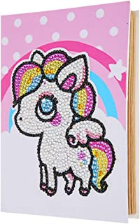 Goolfly 5D Diamond Painting Album Kits Set Folding Photo Album DIY Diamond Painting Album for Gift Home Decor Style 10