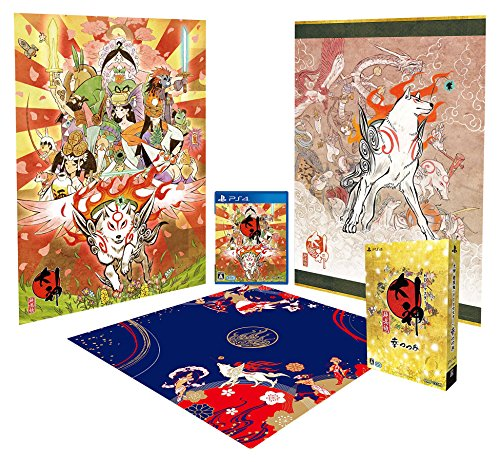 Okami HD - Limited Edition (Full English Support) [PS4][Japanische Importspiele]